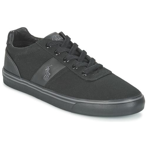 Shoes Men Low top trainers Polo Ralph Lauren HANFORD-NE Black