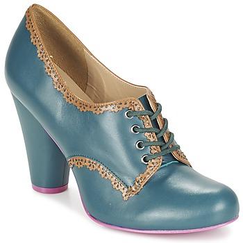Shoes Women Low boots Cristofoli POSS CHAV Blue / Petrol
