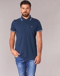 material Men short-sleeved polo shirts Casual Attitude EPIDIN Marine