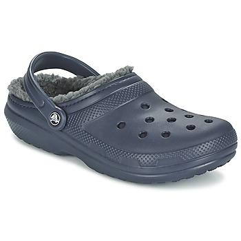 Shoes Clogs Crocs CLASSIC LINED CLOG MARINE / Grey