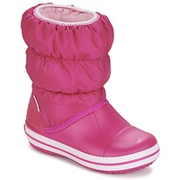 Shoes Girl Snow boots Crocs WINTER PUFF BOOT KIDS Pink