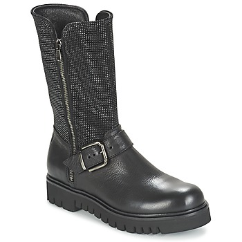 Shoes Women Boots Now BOURNIRO Black