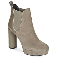 Shoes Women Ankle boots Luciano Barachini MILI Taupe
