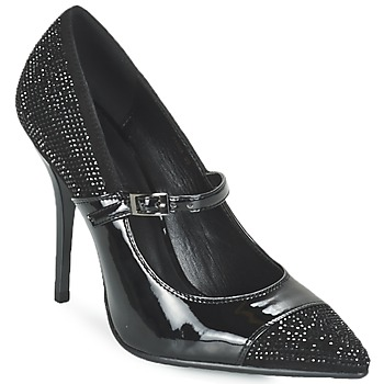 Shoes Women Court shoes Luciano Barachini POUL Black