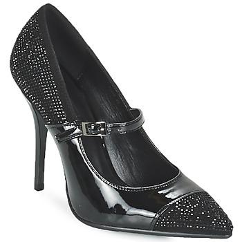 Shoes Women Court shoes Luciano Barachini POUL Black