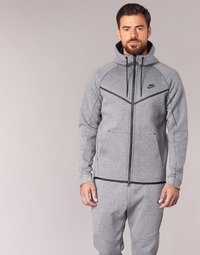 material Men Blouses Nike TECH FLEECE WINDRUNNER HOODIE Grey