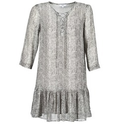 material Women Short Dresses Suncoo CIARA Grey