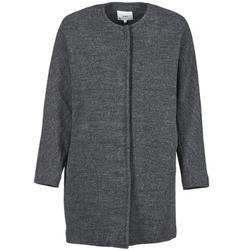 material Women coats Suncoo EMILE Grey