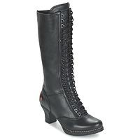 Shoes Women Boots Art HARLEM Black