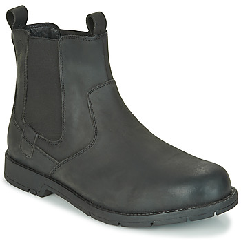 Shoes Men Mid boots Lumberjack CARSON Black