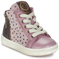 Shoes Girl High top trainers Acebo's MARLIE Pink