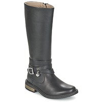 Shoes Girl Boots Garvalin IRATIA Black