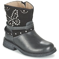 Shoes Girl Mid boots Garvalin GENILA Black