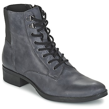 Shoes Women Mid boots Geox MENDI ST B Grey