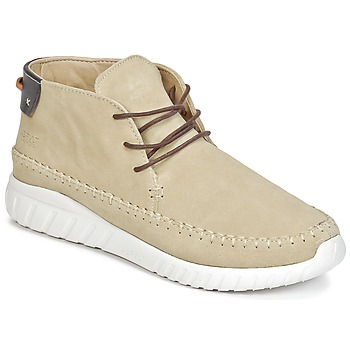 Shoes Men High top trainers Asfvlt YUMA Beige