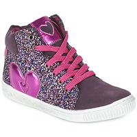 Shoes Girl High top trainers Agatha Ruiz de la Prada BUSOULI Violet