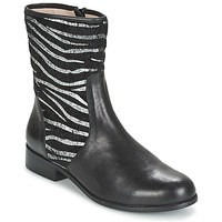 Shoes Women Mid boots Mellow Yellow ALICIA Black