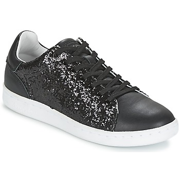 Shoes Women Low top trainers Mellow Yellow AVALON Black