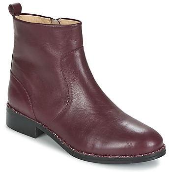 Shoes Women Mid boots Mellow Yellow ARIAGE Bordeaux