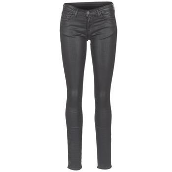 material Women slim jeans Cimarron ROSIE DENM WAX Black