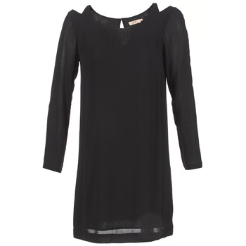 material Women Short Dresses DDP CRAPOU Black
