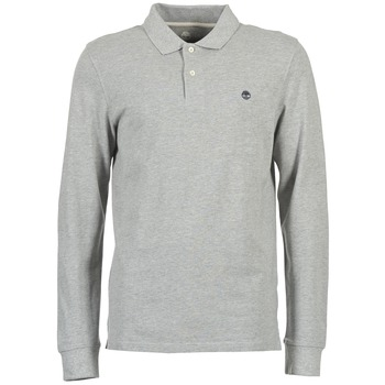 material Men long-sleeved polo shirts Timberland MILLERS RIVER Grey