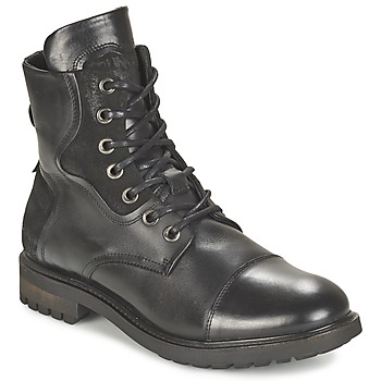 Shoes Men Mid boots Bunker RESCUE Black