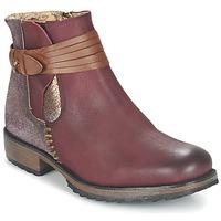 Shoes Women Mid boots Bunker TAYLOR BORDEAUX
