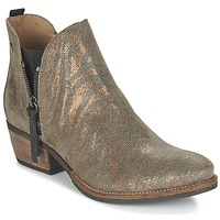 Shoes Women Mid boots Coqueterra LIZZY Gold