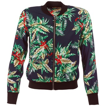 material Women Jackets / Blazers Moony Mood MIBOU Marine / Green