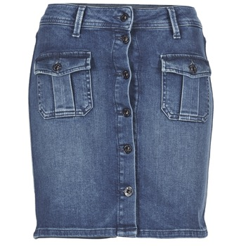 material Women Skirts Pepe jeans SCARLETT Blue