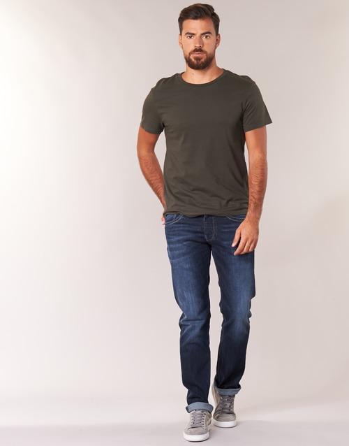 material Men straight jeans Pepe jeans CASH  z45 / Blue / Dark