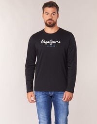 material Men Long sleeved shirts Pepe jeans EGGO LONG Black