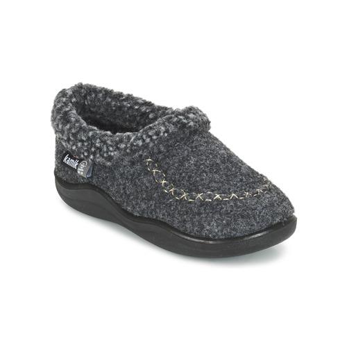 Shoes Children Slippers KAMIK COZYCABIN2 Grey