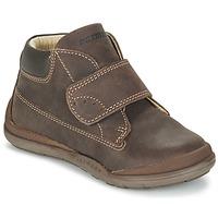 Shoes Boy Mid boots Primigi DEMIAN Brown