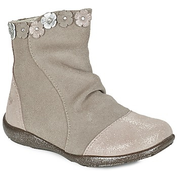 Shoes Girl Boots Primigi (enfant) EMILIANA Grey