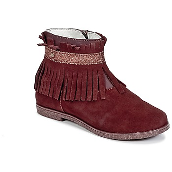 Shoes Girl Mid boots Primigi SIUSY BORDEAUX