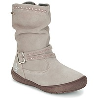 Shoes Girl Boots Primigi (enfant) CALISHA-E Taupe