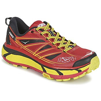 Shoes Men Running shoes Hoka one one MAFATE SPEED 2 Red / Citron