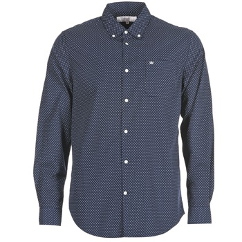 material Men long-sleeved shirts Vicomte A. JANOUPE MARINE