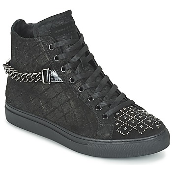 Shoes Women High top trainers John Galliano RAMBERT Black