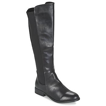 Shoes Women Boots Elue par nous VORETTE Black
