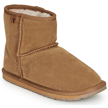Shoes Girl Mid boots EMU WALLABY MINI Chatain
