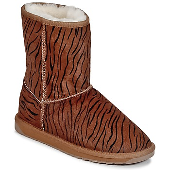 Shoes Women Mid boots EMU STINGER FUR LO Striped