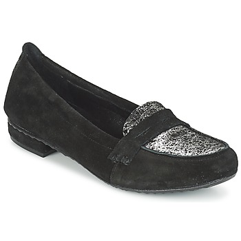 Shoes Women Loafers Regard REMAVO Black / Velvet