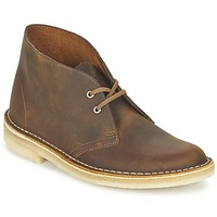 Shoes Women Mid boots Clarks DESERT BOOT Brown