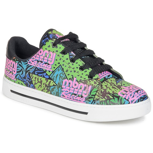 Shoes Women Low top trainers Marc by Marc Jacobs MBMJ MIXED PRINT Multicolour