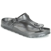 Shoes Women Flip flops Birkenstock GIZEH EVA Anthracite / Metallic