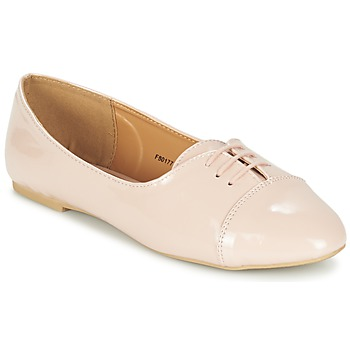 Shoes Women Ballerinas Spot on ASKINA Pink