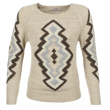 material Women jumpers Cream CARME BEIGE